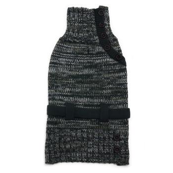 Black Mutiway Dog Sweater