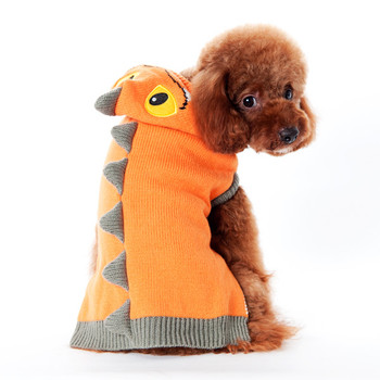Dragon Orange Dog Sweater