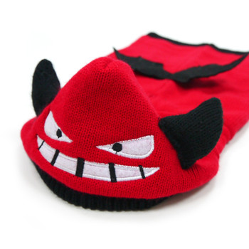 Little Devil Red Dog Sweater