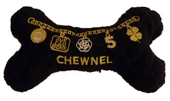 Chewnel Plush Dog Bone Toy