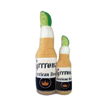 Grrrona Beer Plush Dog Toy