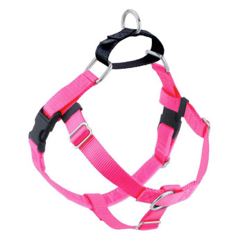 Hot Pink Freedom No-Pull Dog Harness & Optional Leads