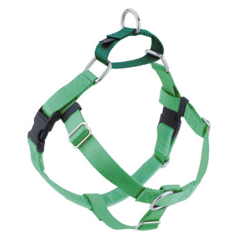 Neon Green Freedom No-Pull Dog Harness & Optional Leads