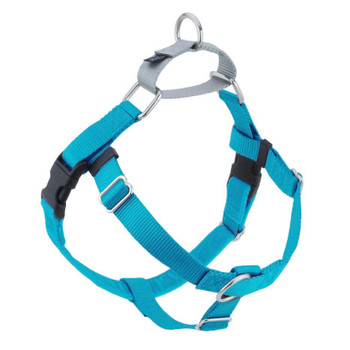 Turquoise Freedom No-Pull Dog Harness & Optional Leads