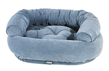 Bluestone Microvelvet Double Donut Pet Dog Bed