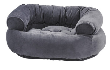 Amethyst Microvelvet Double Donut Pet Dog Bed