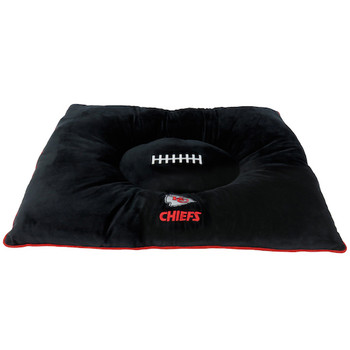 Official NFL Pet Dog Bed - Kansas City Chiefs
