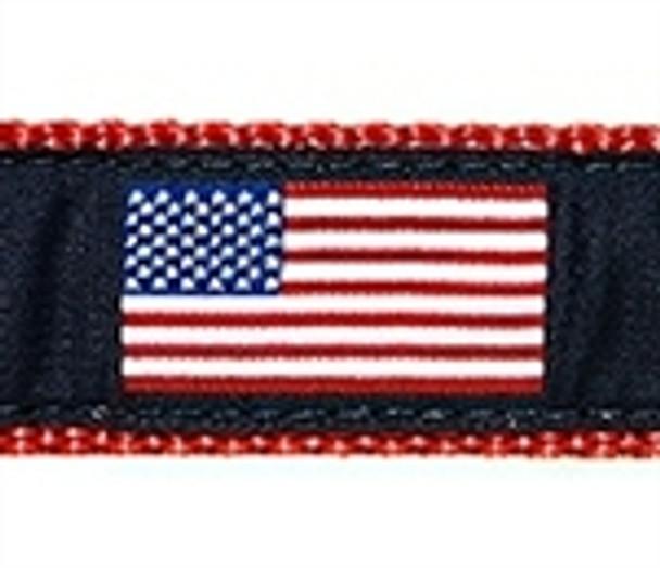 American Flag Dog Collars