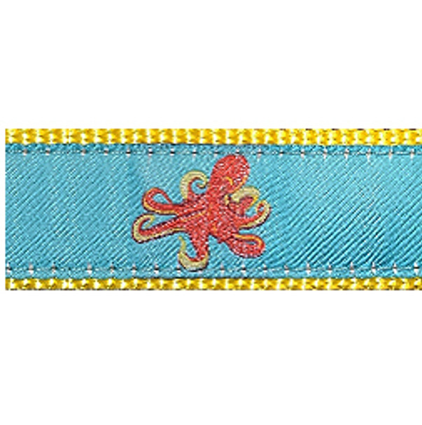 Octopus 3/4 & 1.25 inch Dog Collar