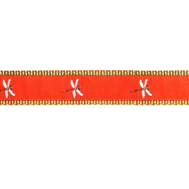 Dragonfly 1/2, 3/4 & 1.25 inch Dog & Cat Collar, Harness