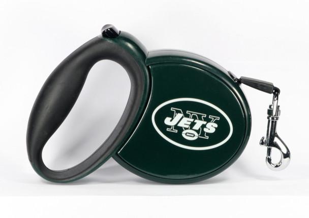 NFL New York Jets Retractable Dog Leash