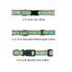 Black Fleur de Lis 1/2, 3/4 & 1.25 inch Dog & Cat Collar, Harness