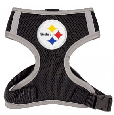 5e33e286cf0 NFL Pittsburgh Steelers Mesh Dog Harnesses   Hip Doggie at Pets Love ...