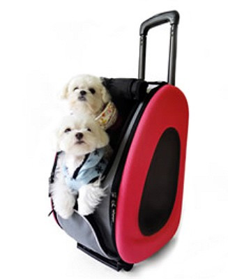 ... EVA Pet Dog Carrier in Pink - 4 in 1 e0e512baef