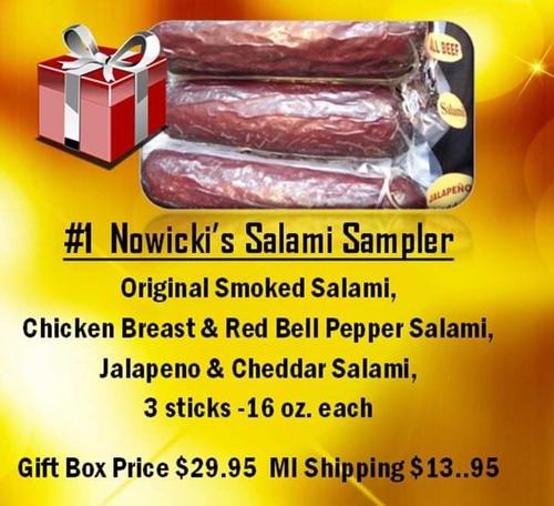 Nowicki's Salami Sampler