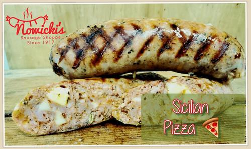 Sicilian Pizza Brats - 6 pack
