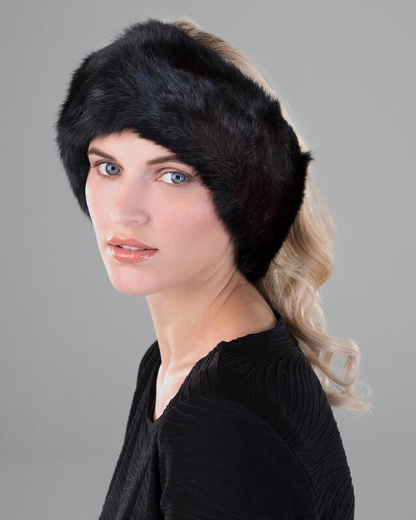 Rabbit Fur Headband/Scarf