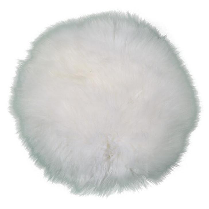Round Pillow in White