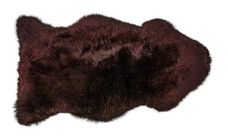 Sheepskin Rug in Brown