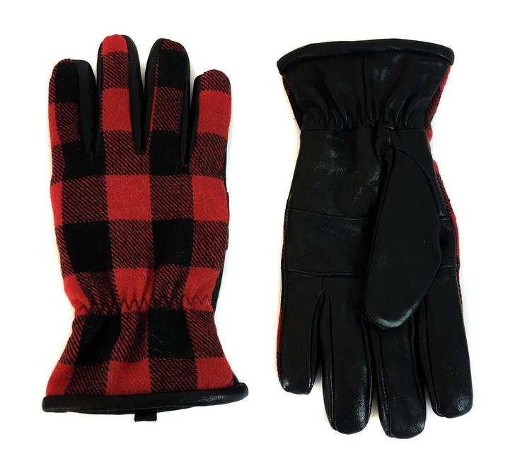 Red Plaid/Black