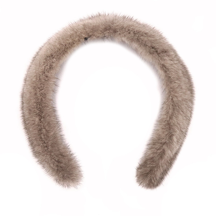 Mink Hairband
