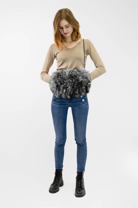 Fox Fur Muff Bag