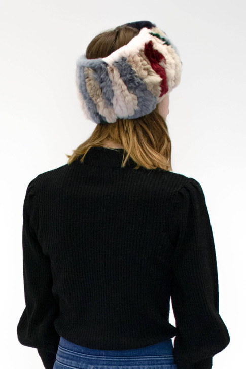 Rex Rabbit Knitted Headband