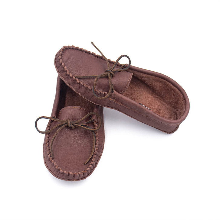 Buffalo Leather Moccasins