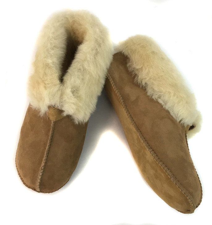 Soft Sole Shearling Slippers
