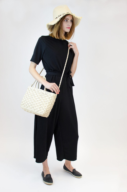 Paper Straw Basket Bag