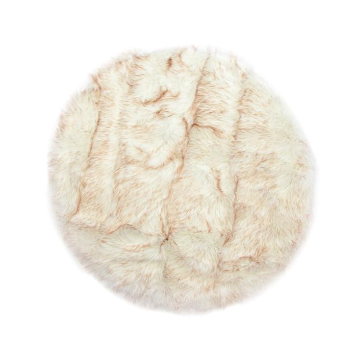 Faux Fur Circle Rug