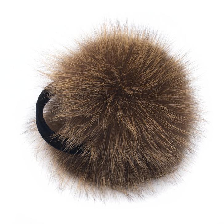 Copper Fox Fur Earmuffs