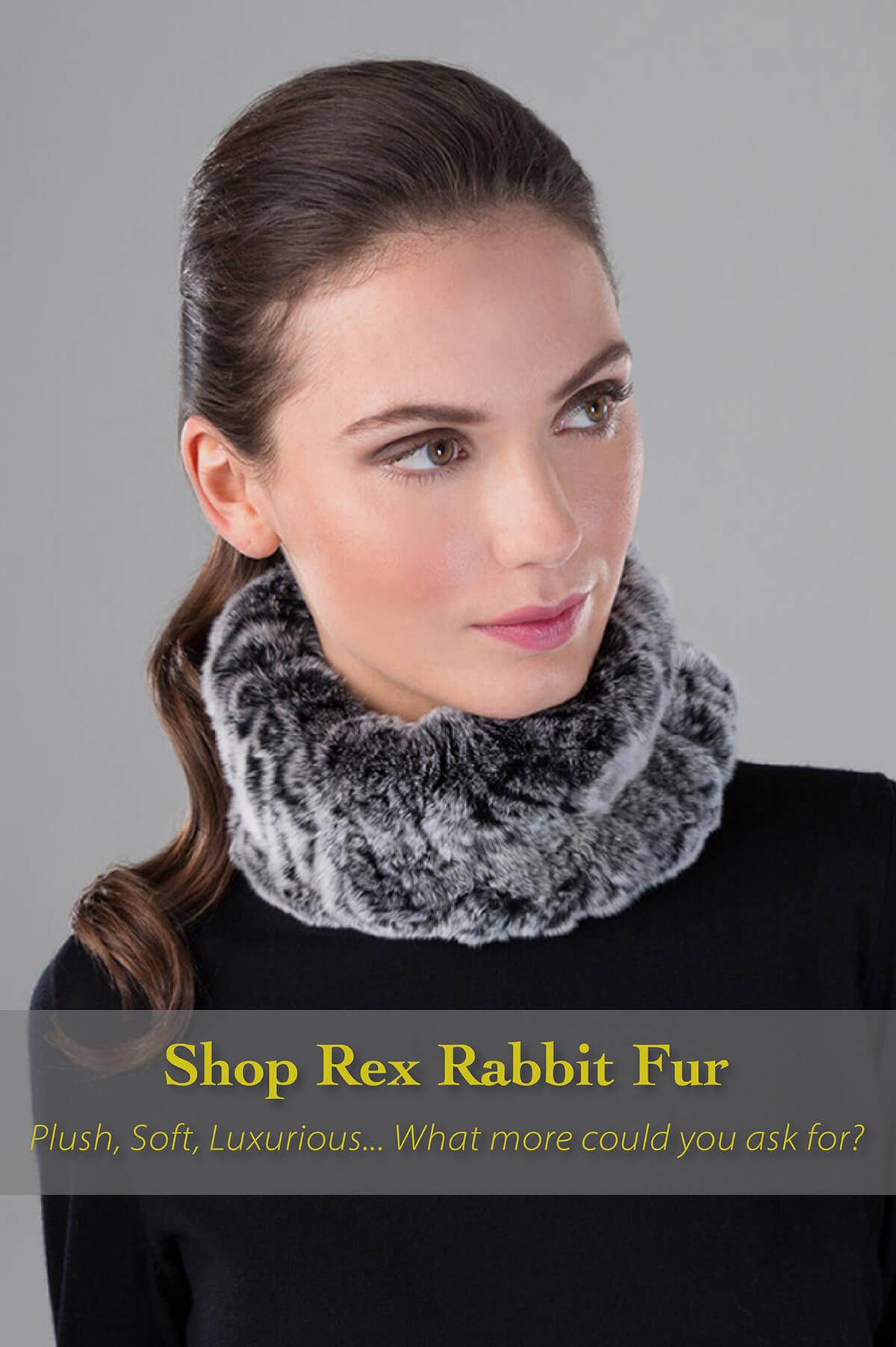 Shop Rex Rabbit fur