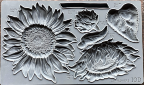 Sunflowers 6X10 IOD Mould