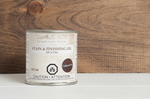 Stain & Finishing Oil 237ml - Cappuccino
