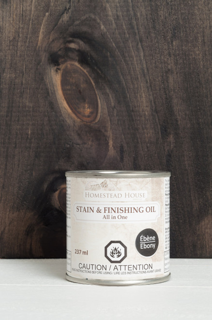 Stain & Finishing Oil 237ml - Ebony