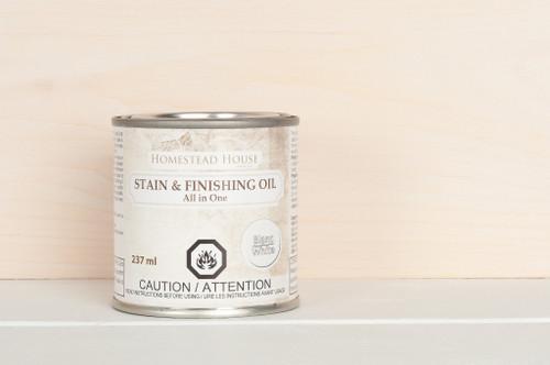 Stain & Finishing Oil 237ml - White