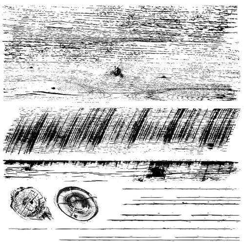 Barnwood Planks 12x12 Decor Stamps