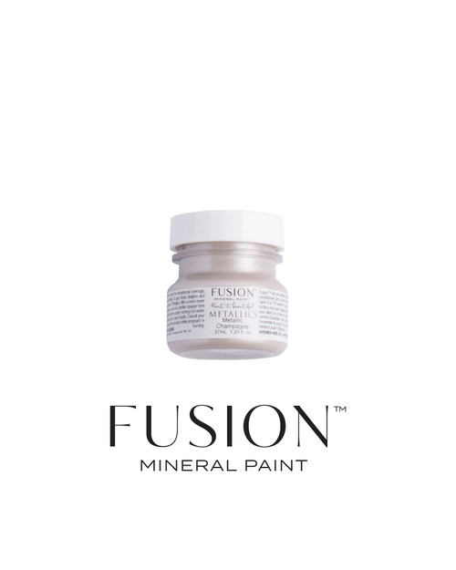 FUSION™ Metallics Brushed Steel Tester (37ml)