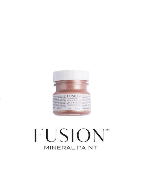 FUSION™ Metallic Rose Gold Tester