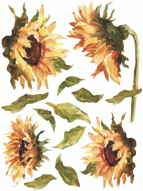 Painterly Florals IOD Transfer 12x16 Pad™