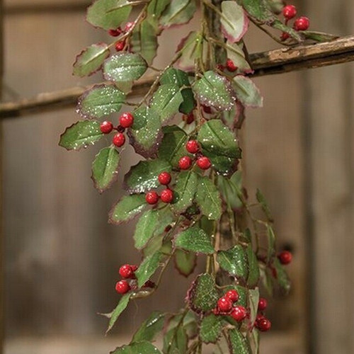 Holly & Berry Garland 6ft