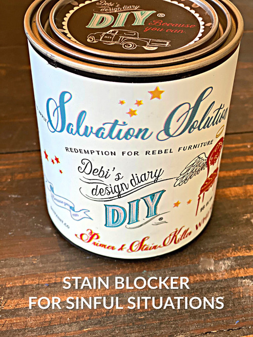 DIY Wood Stain Blocker (Salvation Solution)