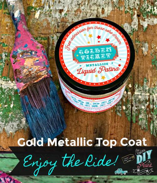 Golden Ticket (Gold Liquid Patina)