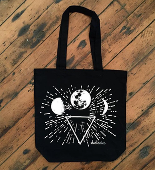 New Moon Totebag
