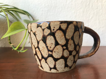 Brown Spotted Mug