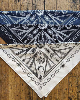 Moon Phases Bandana