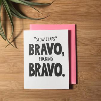 Slow Claps Bravo