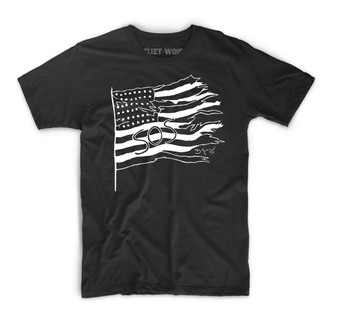 SOS America T-Shirt by D Young V