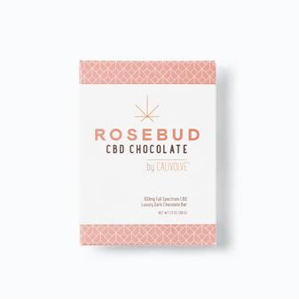 Rosebud CBD Chocolate Bar